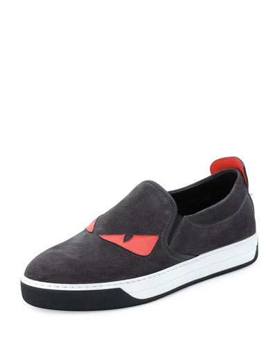 Monster Slip-On Sneaker, Black