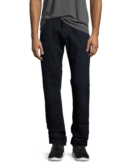 7 For All Mankind Straight-Leg FoolProof Denim Jeans,