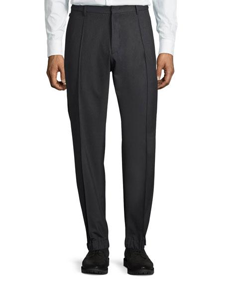 Armani Collezioni Techno Stretch Jogger Trousers, Charcoal Gray