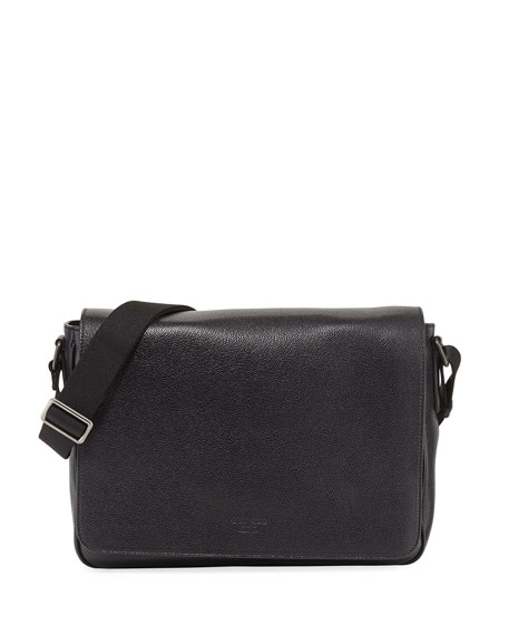 Mens Leather Messenger Bag Armani Discount With Paypal Wiki Affordable Under 50 Dollars Nicekicks 214M7w