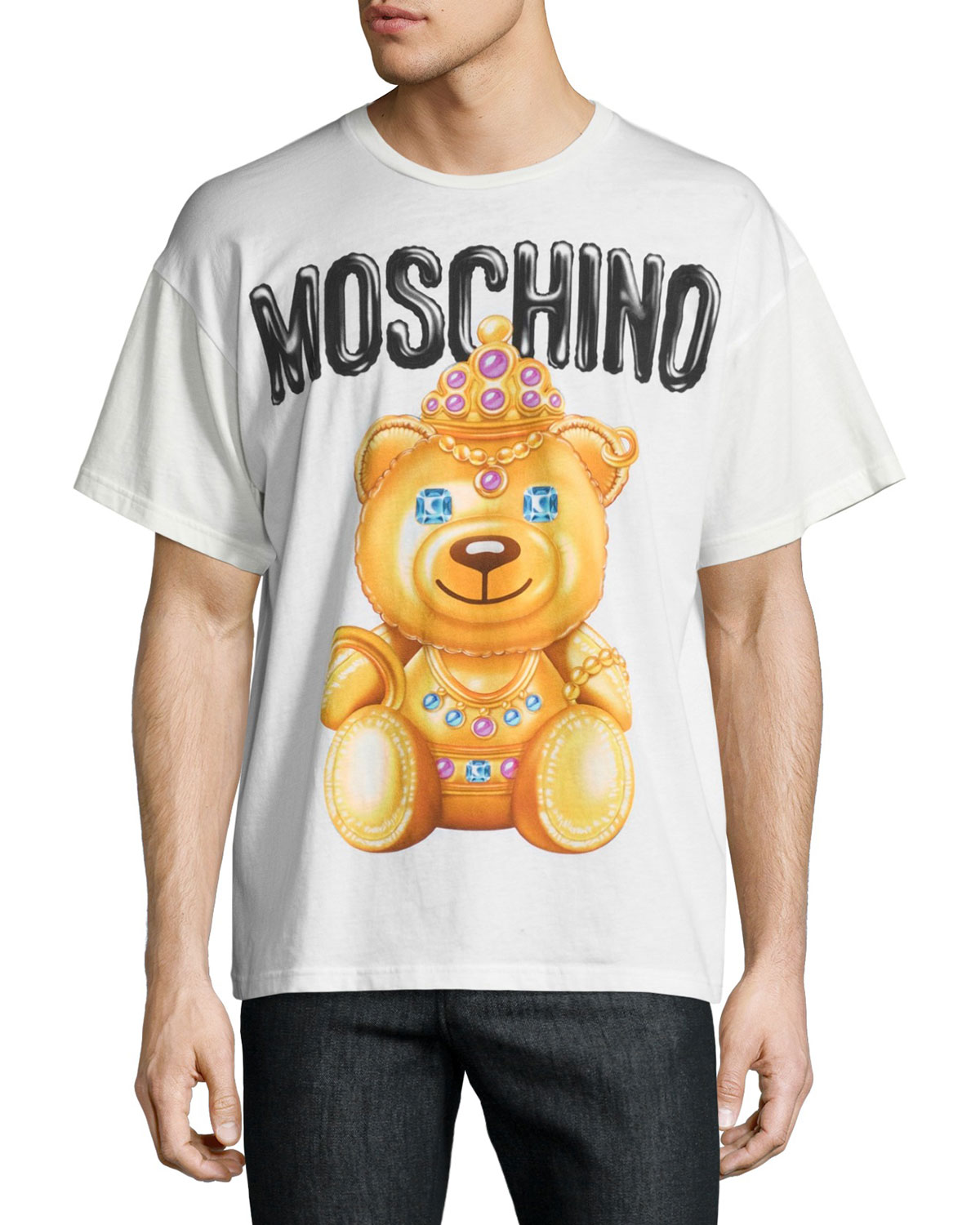 fb1e833c035 Moschino Teddy Bear Logo T-Shirt