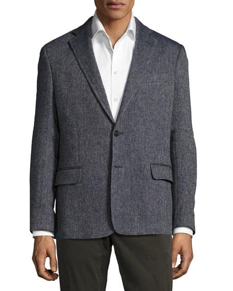 Billy Reid Larson Linen-Blend Jacket