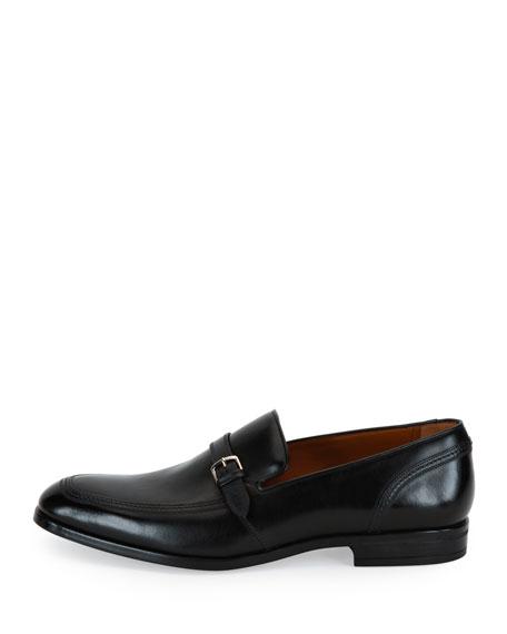 Lavoli Leather Loafer, Black