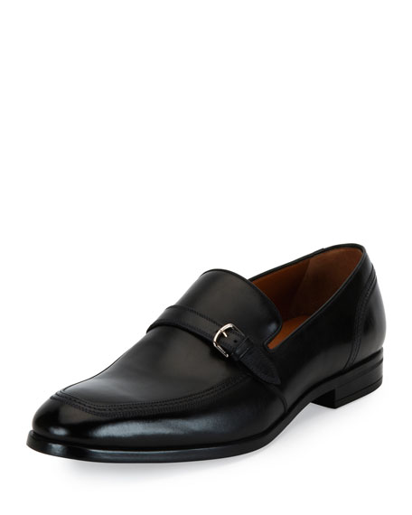 Bally Lavoli Leather Loafer, Black