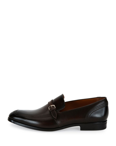 Lavoli Leather Loafer, Brown