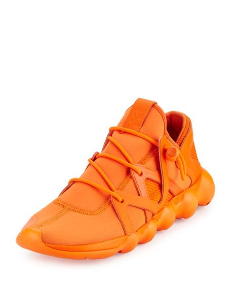 Y-3 Kyujo Men's Leather Low-Top Sneaker