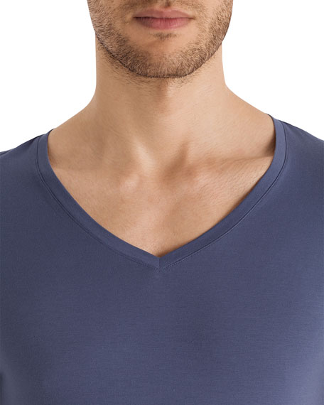 Cotton Superior V-Neck T-Shirt