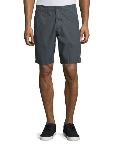 John Varvatos Star USA Flap-Pocket Cotton Shorts