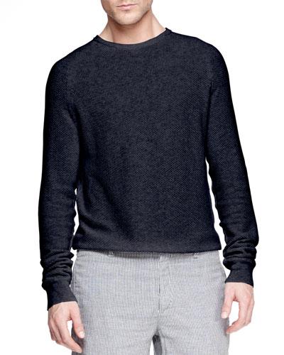 Steven Textured Raglan Sweater