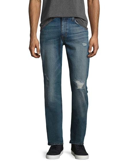 Joe's Jeans The Brixton Distressed Denim Jeans, Blue