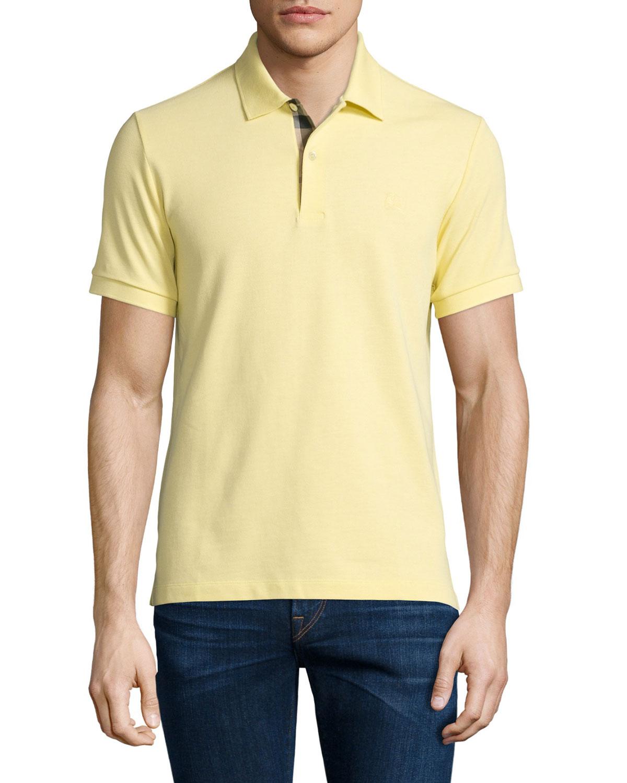 460a0cbc2c03 Burberry Core Short-Sleeve Pique Polo Shirt