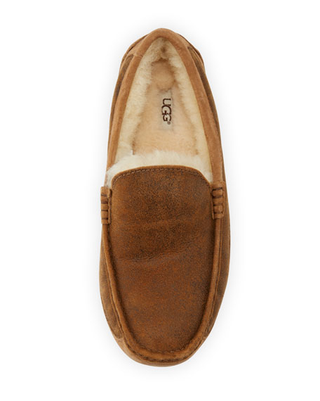 Ascot Men's Suede Slipper