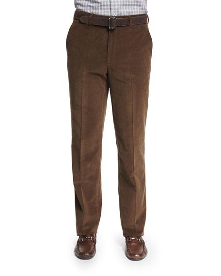 Peter Millar Cashmere-Blend Italian Corduroy Pants