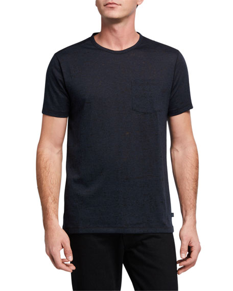 John Varvatos Star USA Burnout Pocket T-Shirt