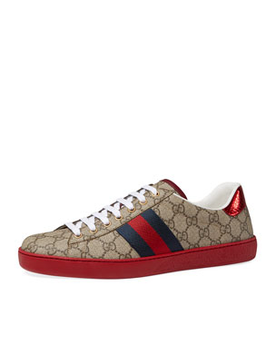 074fa9b8a87a Gucci Shoes   Sneakers for Men at Neiman Marcus