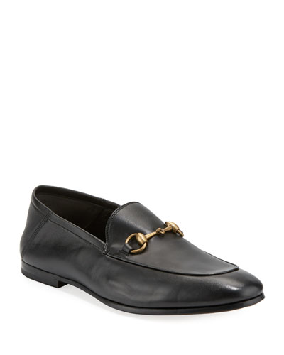 Soft Leather Bit-Strap Loafer