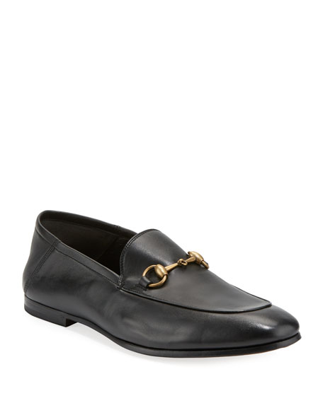 Gucci Soft Leather Bit-Strap Loafer