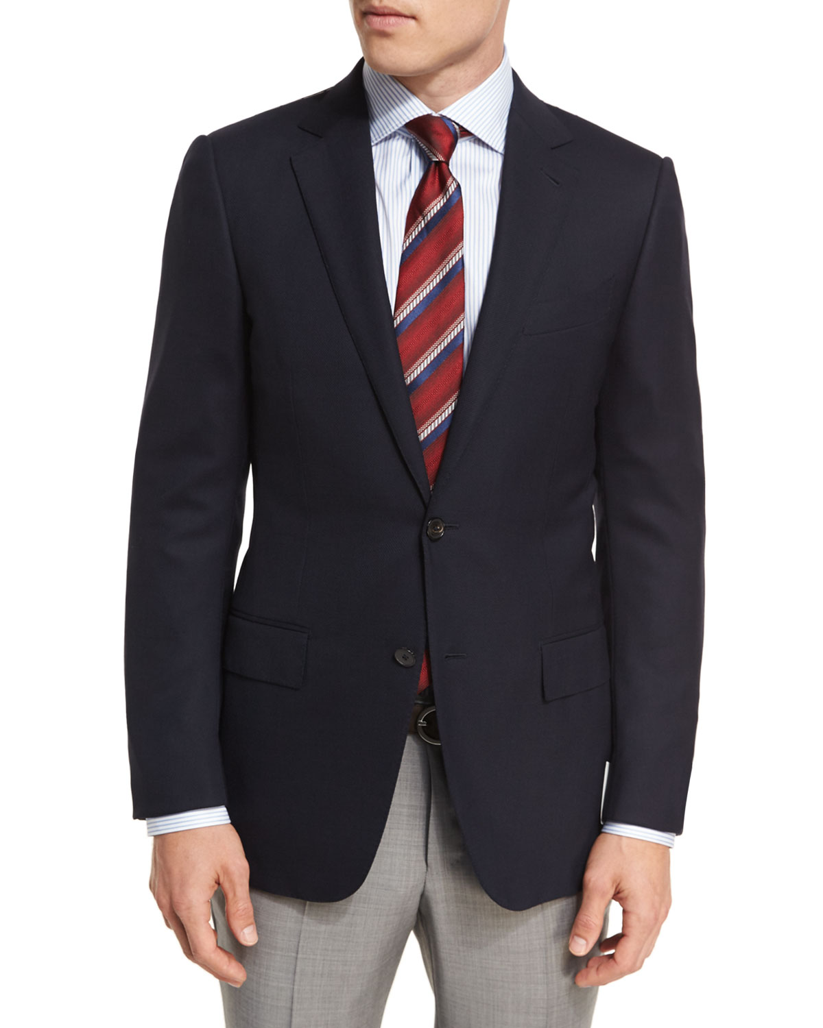 Ermenegildo Zegna Milano Easy Fit Cool Effect Wool Sport
