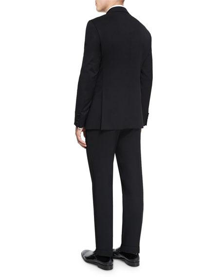 G-Line Satin-Lapel Wool Tuxedo