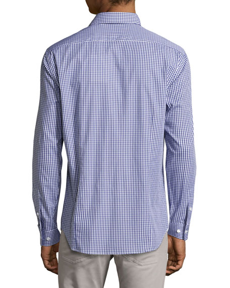 Gingham Sport Shirt