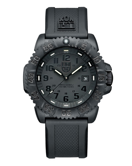 Luminox 44mm Navy SEAL 3050 Series Colormark Watch,