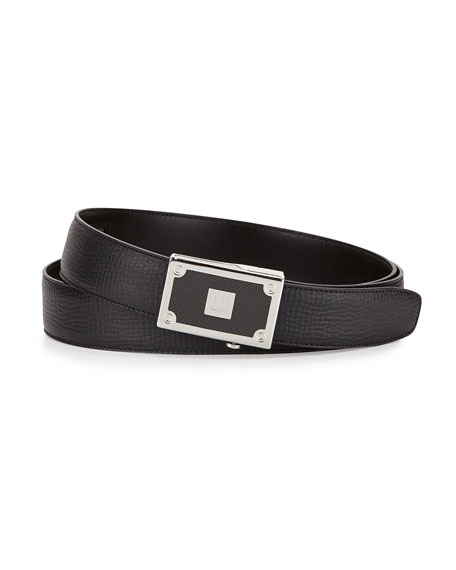Alfred Dunhill Carbon Fiber Leather Belt