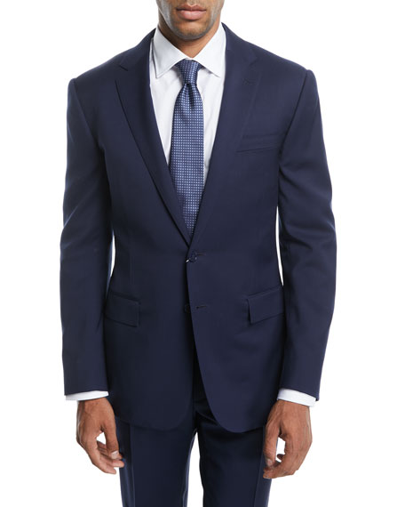 Ralph Lauren Anthony Wool Serge Suit