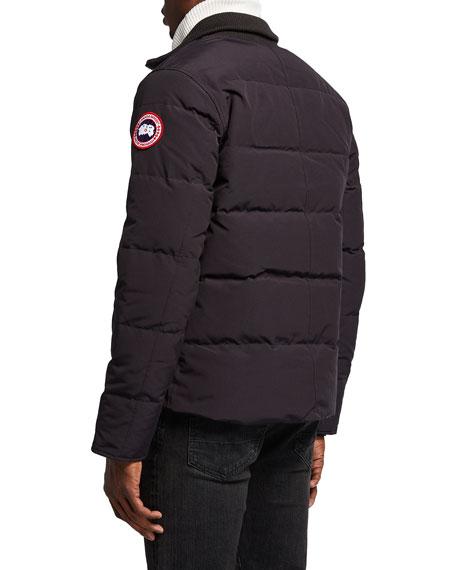 Woolford Puffer Jacket, Black