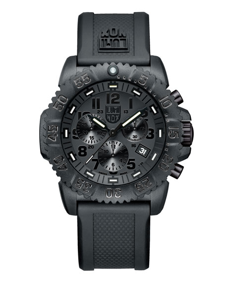 Luminox 44mm Navy SEAL 3080 Series Colormark Chronograph