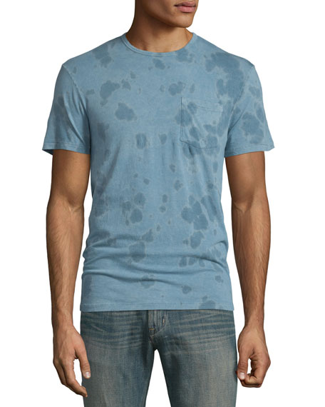 John Varvatos Star USA Washed Tie-Dye Short-Sleeve T-Shirt,