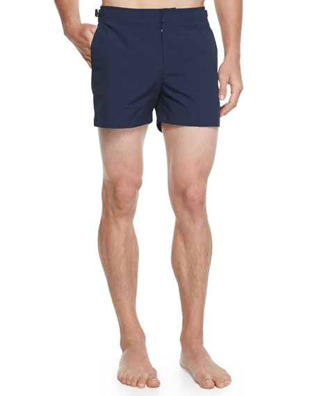 Orlebar Brown Setter Short-Length Swim Trunks, Navy