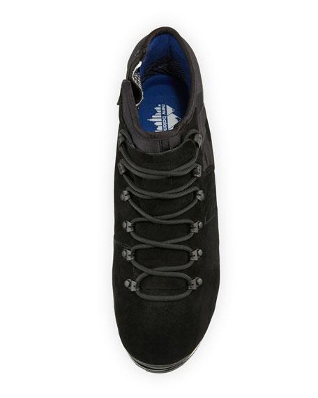 Men's Niobium Suede & Neoprene Mid-Top Sneaker