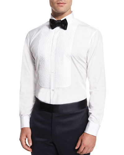 Silk Bow Tie, Black