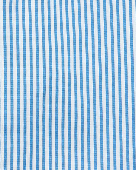 Contemporary-Fit Bengal-Striped Dress Shirt, Blue