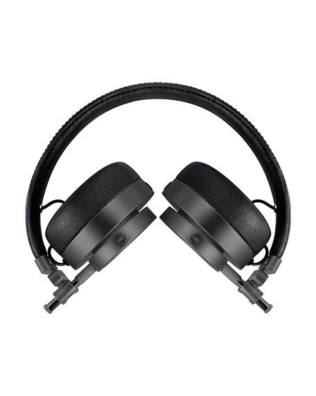 MH30 On-Ear Headphones, Black/Gunmetal