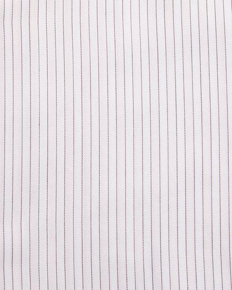 Trofeo® Striped Dress Shirt, Pink/White