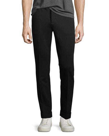 ATM Anthony Thomas Melillo Ponte Slim-Leg Pants
