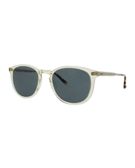 Garrett Leight Kinney 49 Square Polarized Sunglasses,