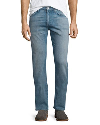 Straight-Leg Airweft Denim Jeans