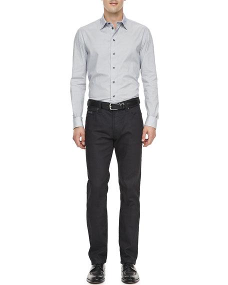Slim Stretch-Denim Jeans, Indigo