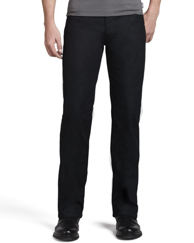 Slim Stretch-Denim Jeans, Indigo