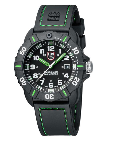 44mm Sea Series Coronado 3037 Watch, Green