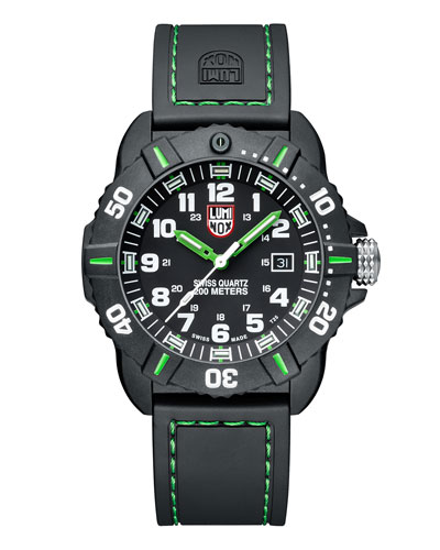 44mm Sea Series Coronado 3037 Watch, Green