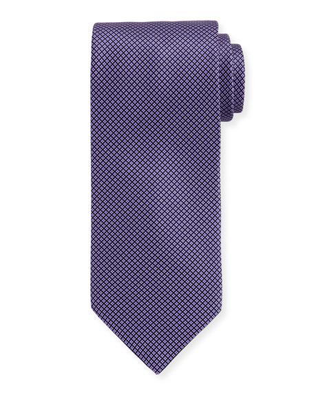 Micro-Neat Silk Tie