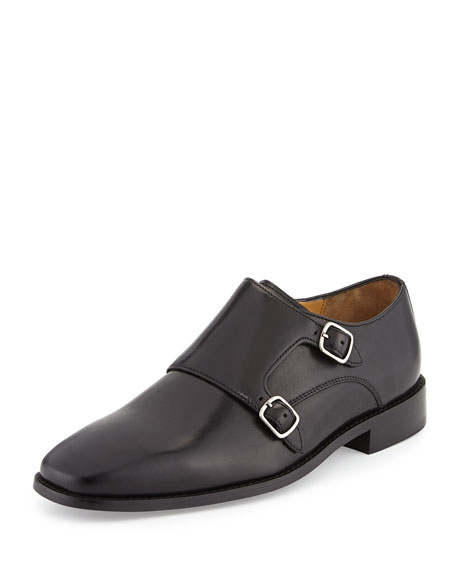 Cole Haan Giraldo Monk-Strap Loafer, Black