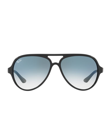 RAY BAN Cats 5000 Classic Sunglasses in Clear