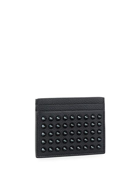 98ce1ead299 Men's Kios Spiked Leather Card Case