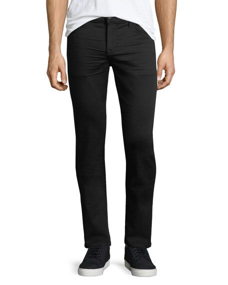 Joe's Jeans Slim-Fit Enok Tonal Denim Jeans, Black