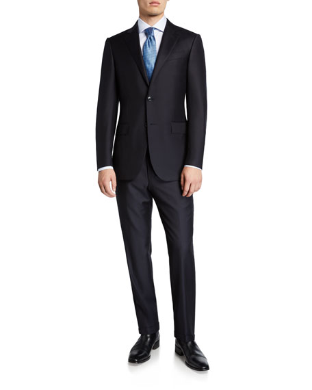 Image 2 of 4: Ermenegildo Zegna Men's Trofeo Milano Two-Piece Wool Suit