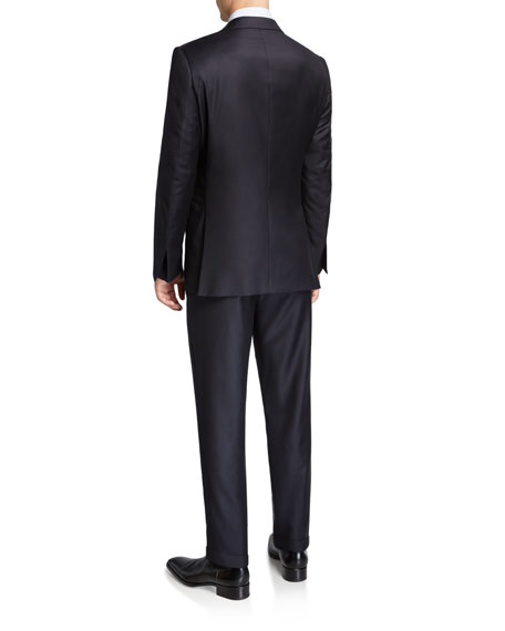 Image 3 of 4: Ermenegildo Zegna Men's Trofeo Milano Two-Piece Wool Suit